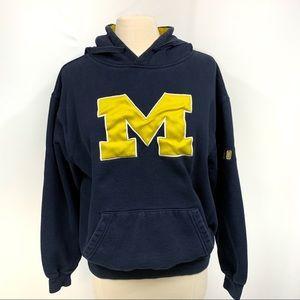 University of Michigan Hooded Sweatshirt Hoodie L